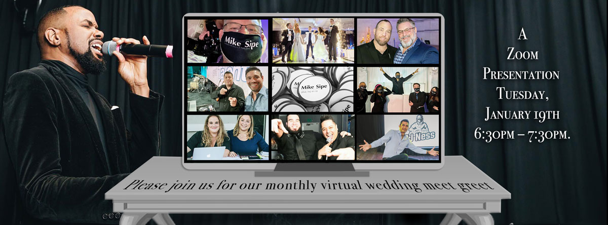 Monthly Virtual Wedding Meet and Greet